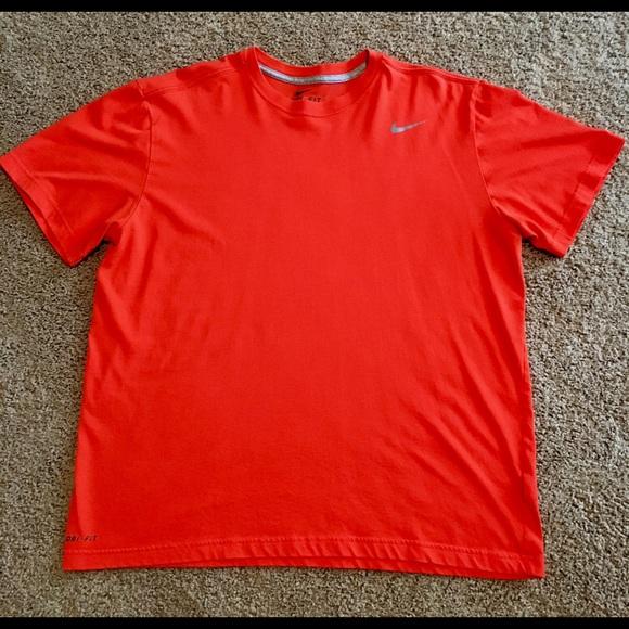642ff9ea Nike Shirts | Mens Dri Fit Size Xl Orange Tee Shirt | Poshmark